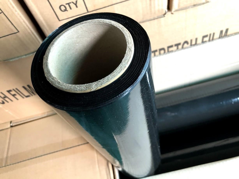 cuộn film PE màu đen quấn tay