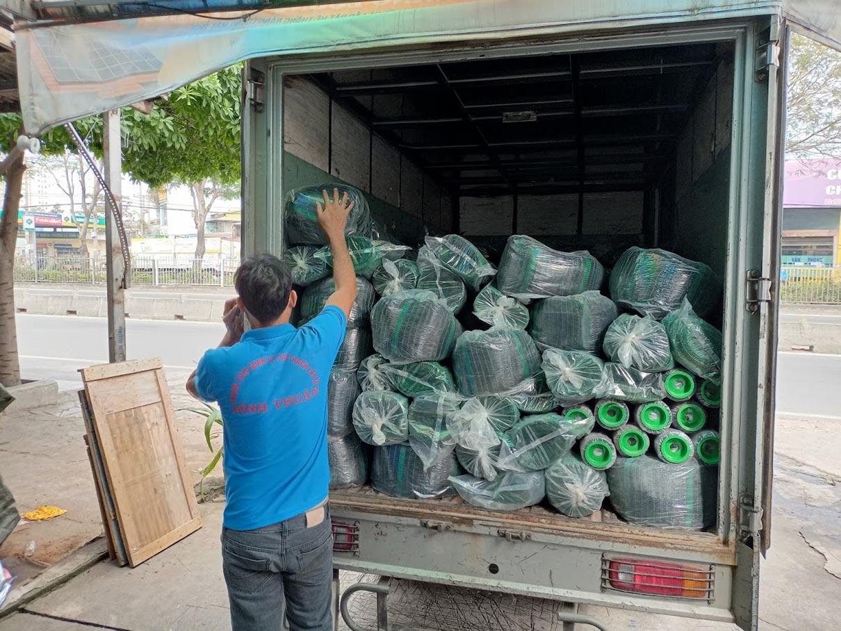 Địa chỉ mua lưới che nắng sợi dẹt Thái Lan tại tphcm