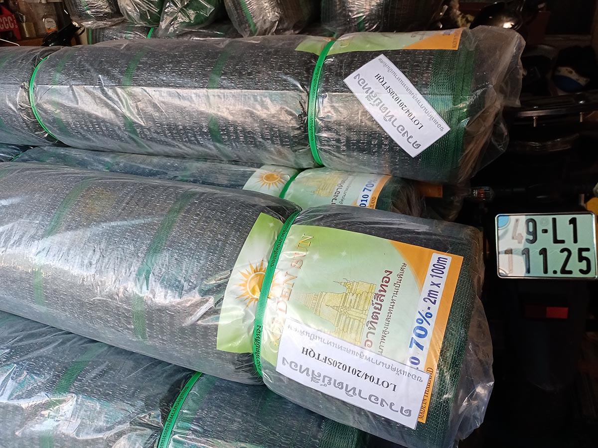 lưới che nắng sử dụng trong nông nghiệp