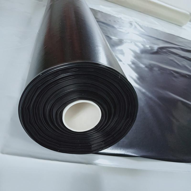 cuộn màng PE công trình màu đen