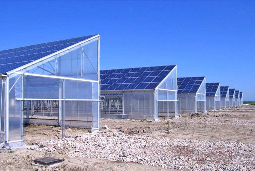mô hình nhà kính điện mặt trời là gì