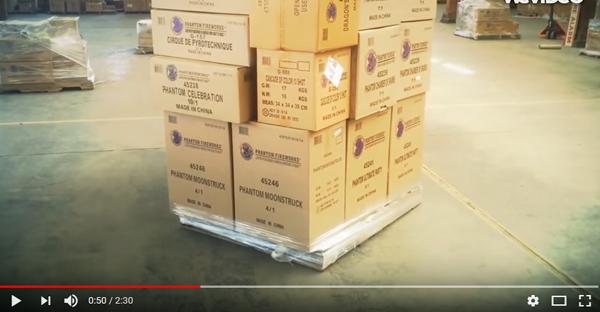 [Video] Hướng dẫn sử dụng màng PE quấn pallet hàng hóa