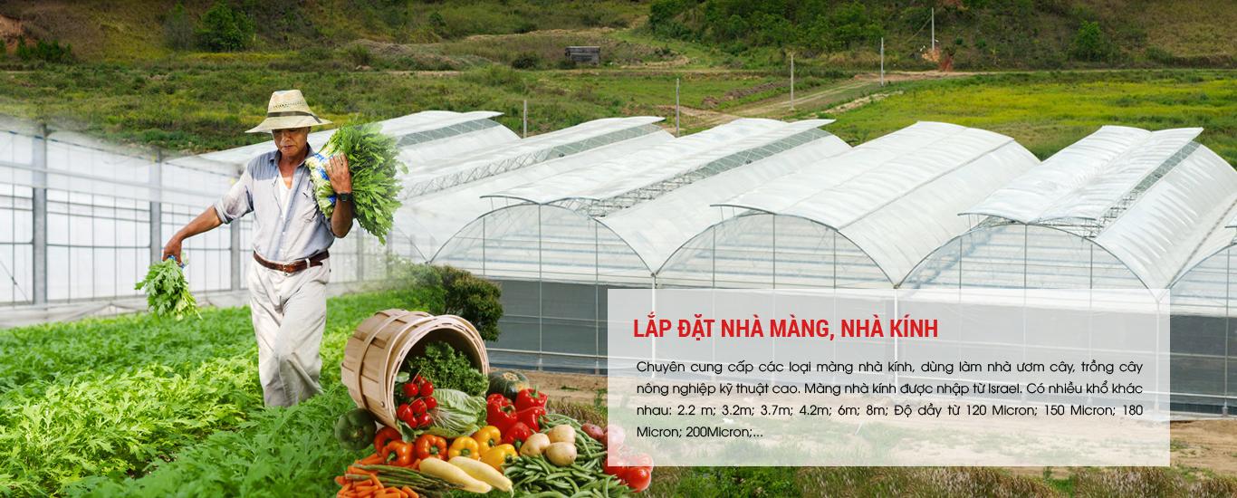 Màng nhà kính: sản phẩm hàng đầu cho nông nghiệp 4.0 năm 2019