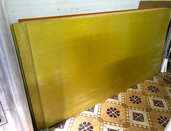 Tấm Phíp cách điện sợi thủy tinh Epoxy màu vàng